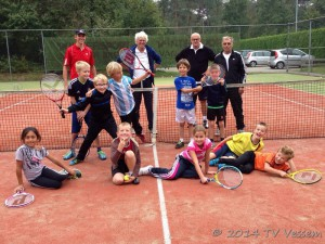 Tennislessen jeugd september2